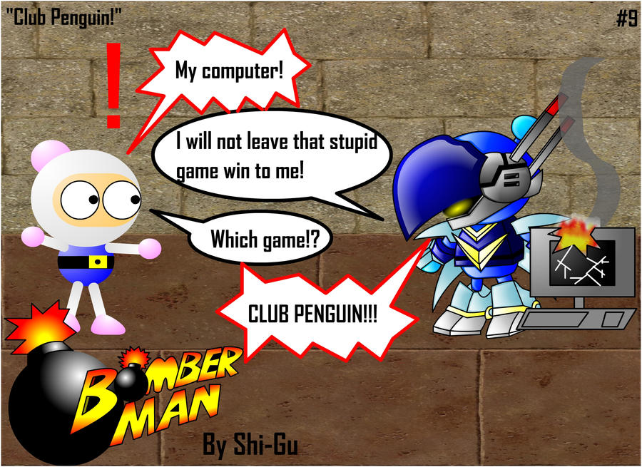 Bomberman Pinguin
