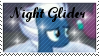 .:Night Glider Stamp:. by nightii-chan