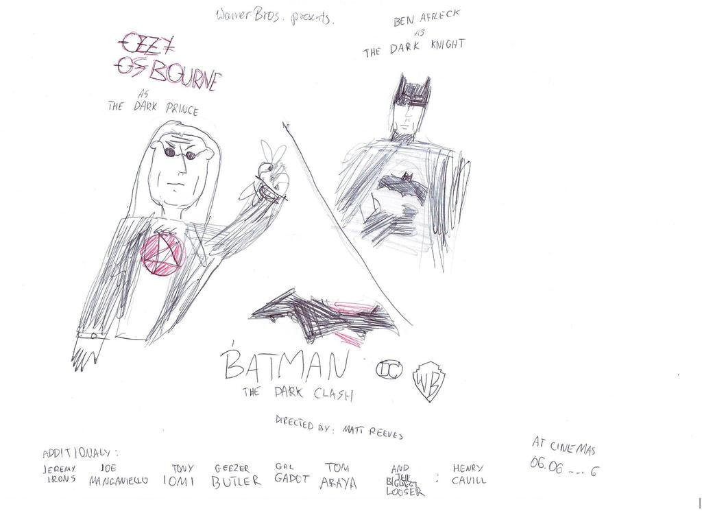 Batman The Dark Clash. jpg by Mirko666