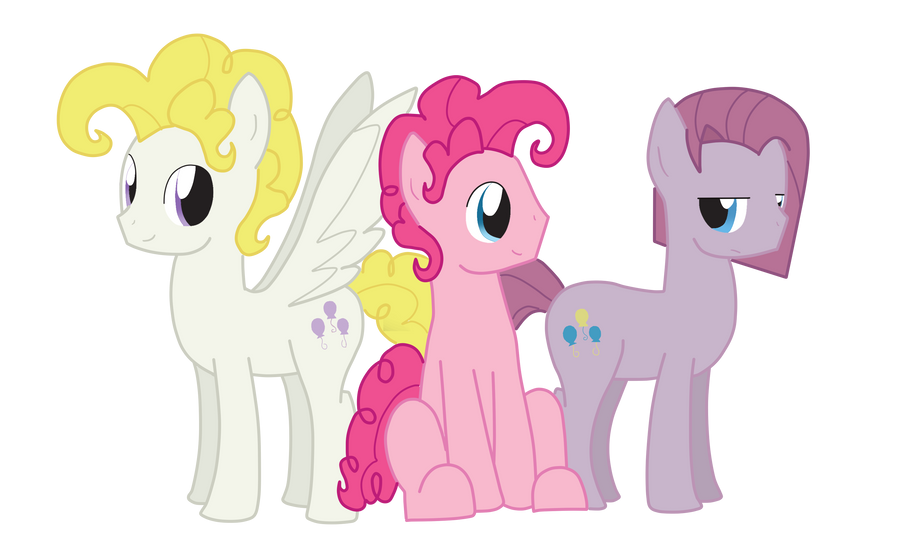Bubble Berry's Alter Egos by StaticWave12