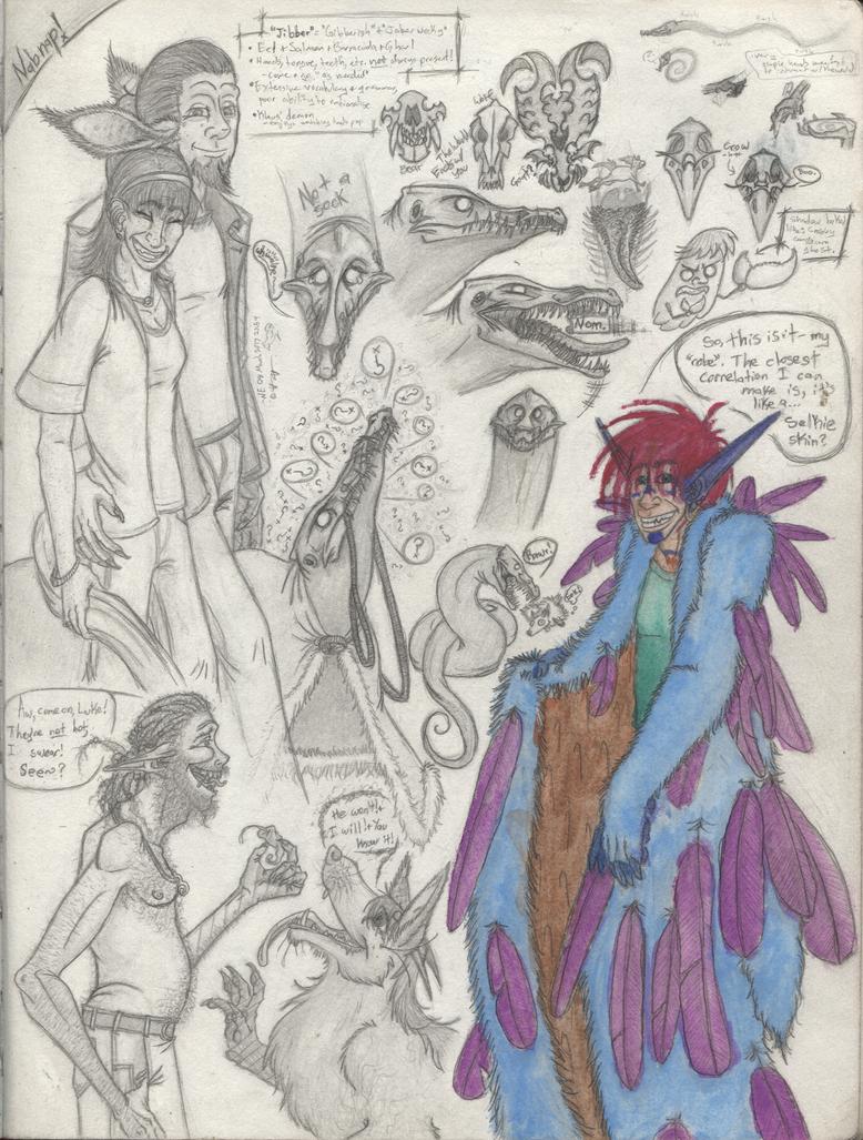 SketchbookPG104 by DemonLog