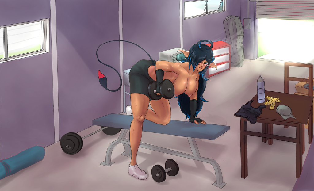 Lilith Working Out by Sol-Goodguy