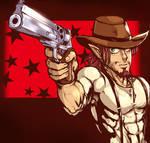 Harlow and his Gun