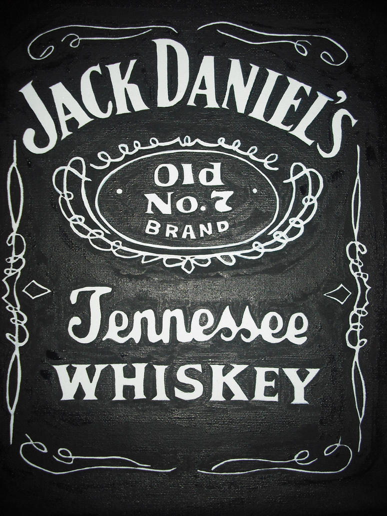 Célèbre Jack Daniel's Label Painting by Romantic-Panda on DeviantArt CM59