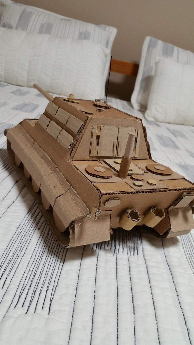 Jagdtiger (cardboard) by Gebafado