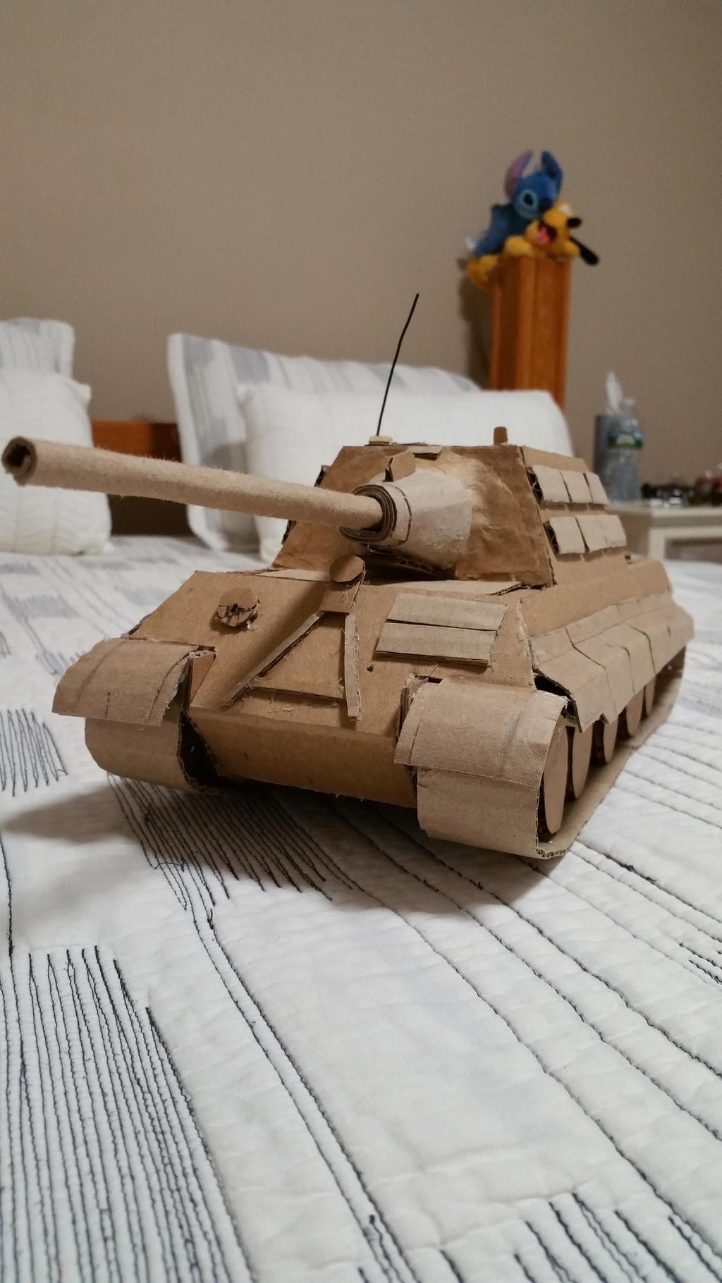Jagdtiger (cardboard) II by Gebafado