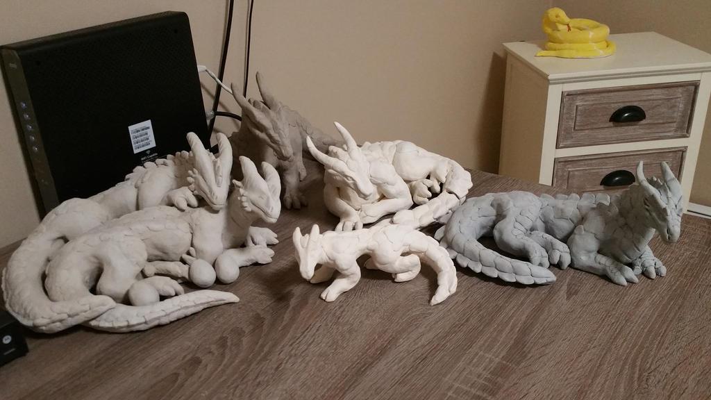 My Dragon Crafts  by Gebafado