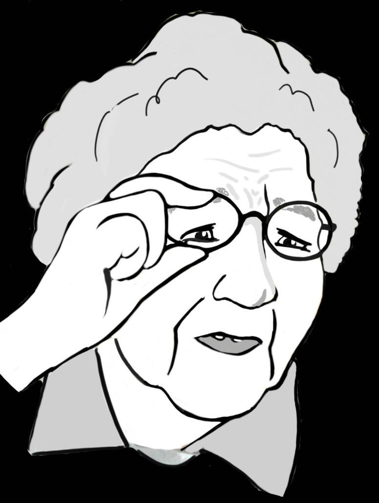 Meme Granny What?  by Gebafado