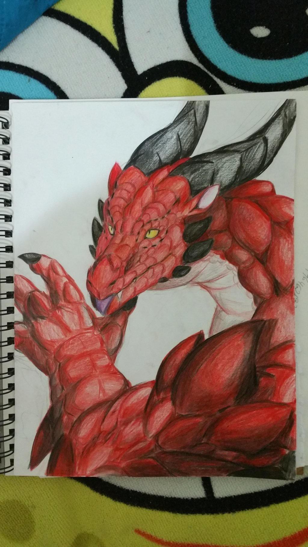 Red Scales  by Gebafado