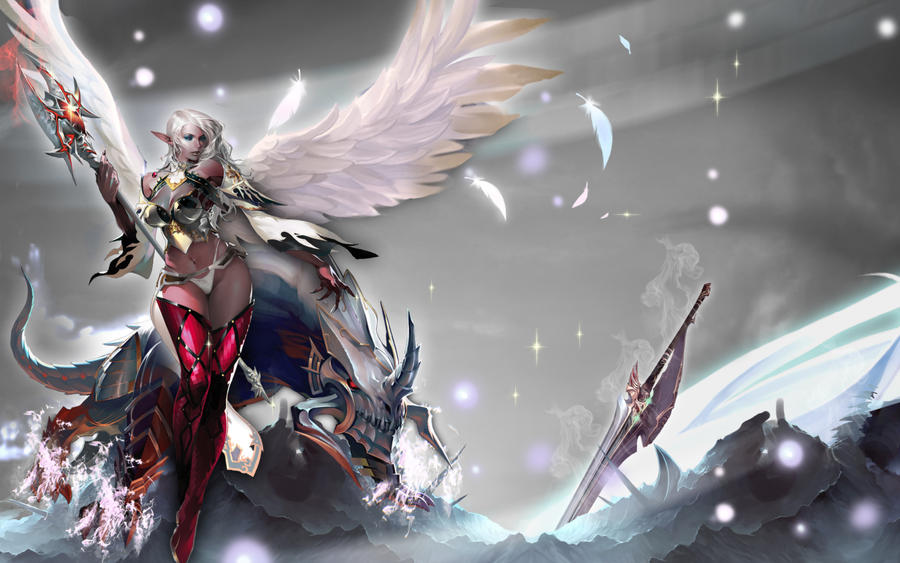 Dark Elf Lineage II by kitolo