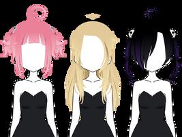 [Kisekae] Export Hair #2 by xErzaChan