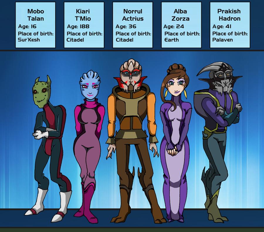 Mass Effect Live Wallpaper: ME CW: Citadel Wards Cast By Padzi On DeviantArt