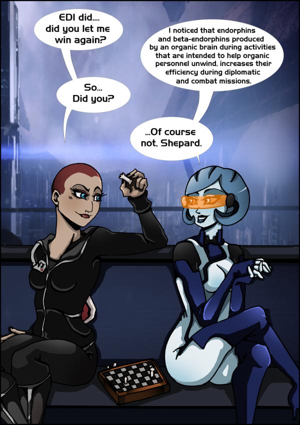 ME3: Chess with an AI by Padzi