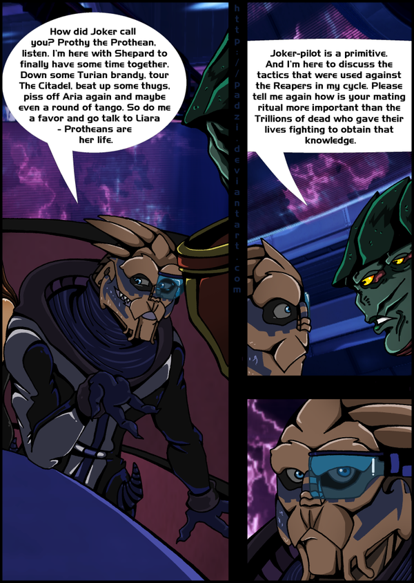 ME3: Shore Leave (page 2/3) by Padzi