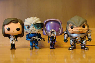 Team Funko Assemble by Padzi