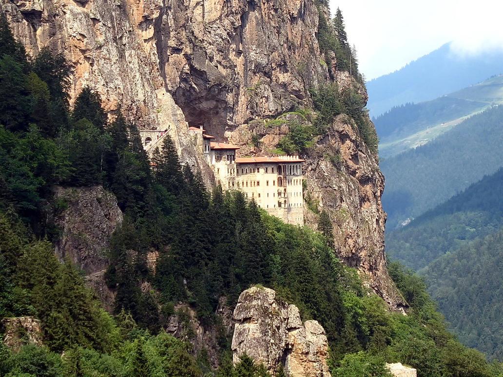 Sumela Monastery by abdpalali on deviantART