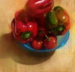 Tomates et poivrons