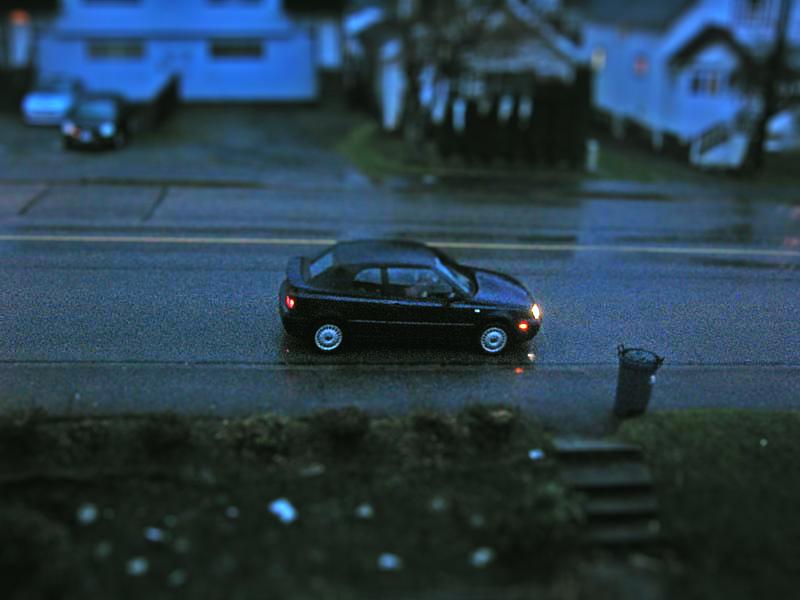 Tilt Shift Car by MobyMotion
