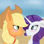 Rarijack at the beach by CredenceTheDemon