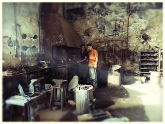 Blacksmiths by LeksaArt