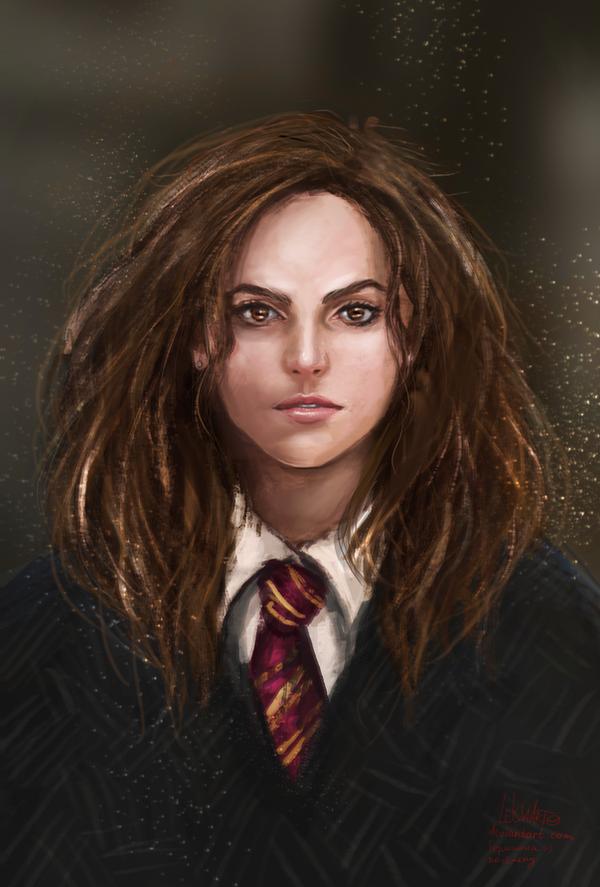 Hermione Jean Granger by LeksaArt