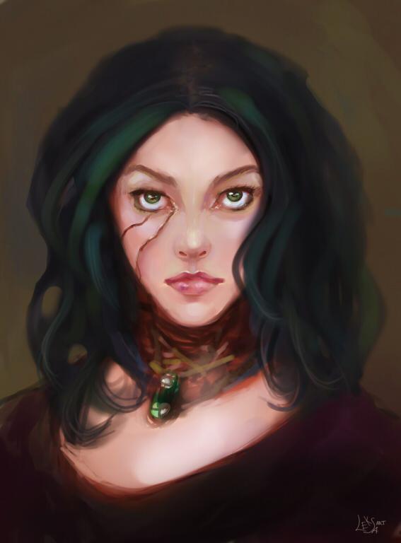 OC Lidya by LeksaArt