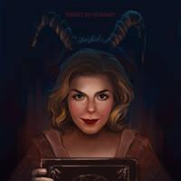 Chilling Adventures Of Sabrina by LeksaArt