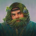 druid by LeksaArt