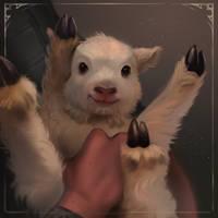 Smol lamb by LeksaArt