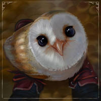little owly by LeksaArt