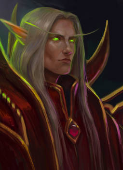 World of Warcraft Kaelthas Sunstrider