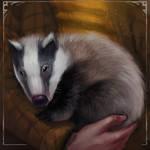 Hufflepuff badger by LeksaArt