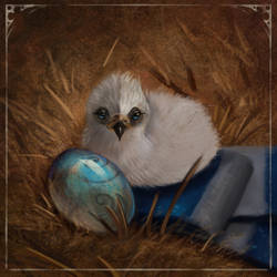 Ravenclaw little eagle Harry Potter fanart
