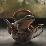 Frog by LeksaArt