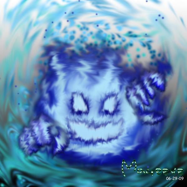 Flame Ghost by Macreeve