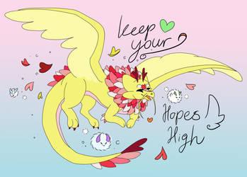 Keep your hopes high!
