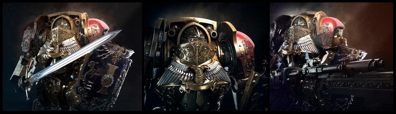 Adeptus custodes contemptor dreadnought8