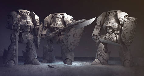 Adeptus custodes contemptor dreadnought9