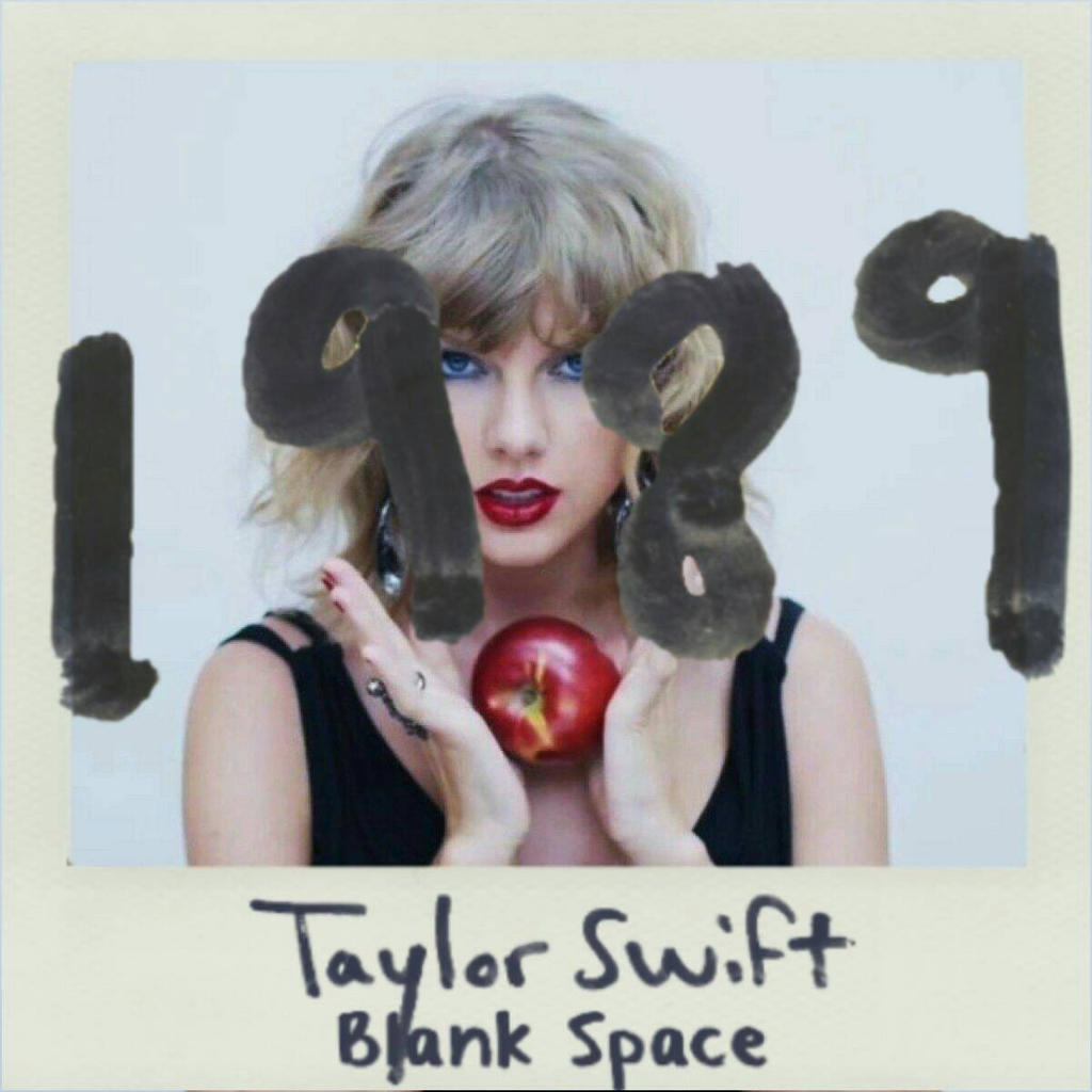Taylor Swift Blank Space Cover | www.imgkid.com - The Image Kid Has It!