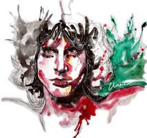 Jim Morrison by Clarae19