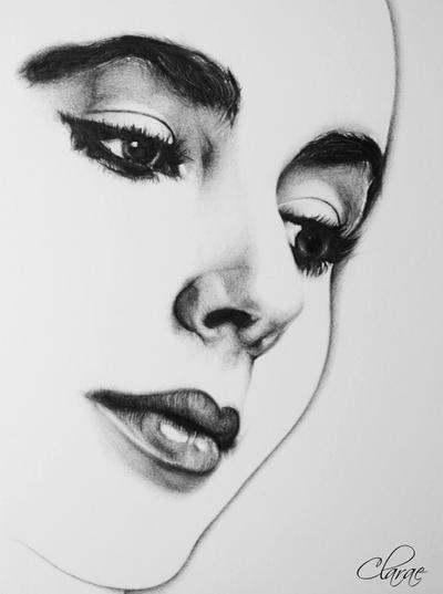 Liz Taylor by Clarae19