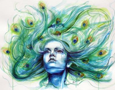 Metamorphosis VI-peacock by Clarae19