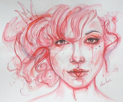 Queen of hearts by Clarae19