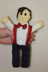 11th Doctor Who Matt Smith Plushie Doll by MissSunflower