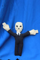 The Silence Doctor Who plushie doll by MissSunflower