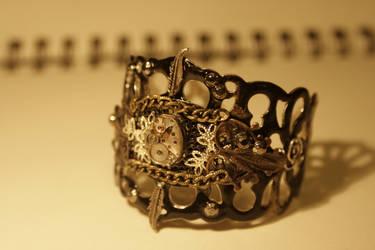 watch bracelet by jaadvyga