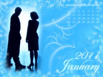 Calendar January 2011 by DanaAnderson