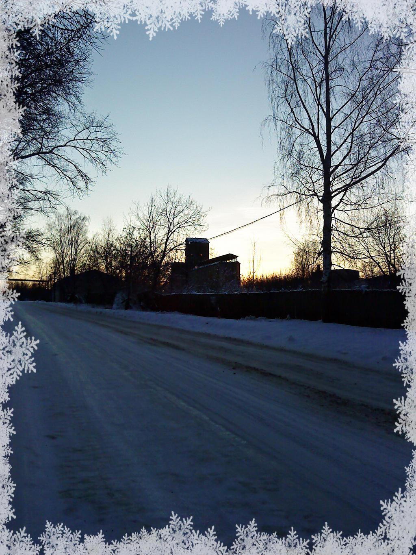 Winter Twilight by DanaAnderson