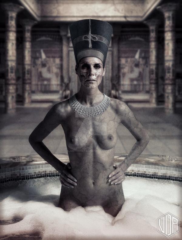Nefertiti by ValantisDigitalArt