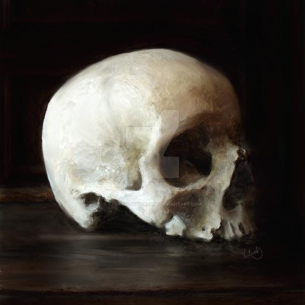 The Funeral Portrait by ValantisDigitalArt